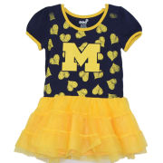 Outerstuff University of Michigan Toddler Girls ''Love to Dance'' Tutu Dress
