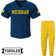 Outerstuff University of Michigan Football Toddler Jersey/Pant Set