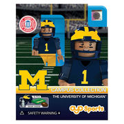 Oyo University of Michigan Football Player Mini Figure