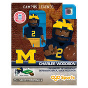 Oyo Sports University of Michigan Campus Legends Charles Woodson Mini Figure