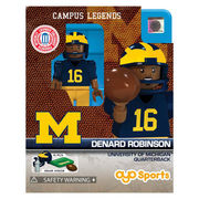 Oyo University of Michigan Campus Legends Denard Robinson Mini Figure