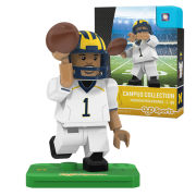 Oyo University of Michigan Football Player Mini Figure [Away Jersey]