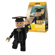 Oyo University of Michigan Graduate Female Mini Figure