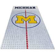 Oyo University of Michigan Hockey Mini Figure Display Plate