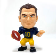 Party Animal University of Michigan Football Tom Brady Big Shot Baller Vinyl Figure