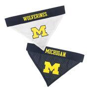 Pet's First University of Michigan Home & Away Collar Bandana