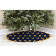 Pegasus Sports University of Michigan All-Over Block ''M'' Christmas Tree Skirt