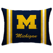 Pegasus Home Fashions University of Michigan 20'' x 26'' Plush Bed Pillow
