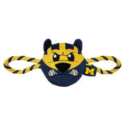 Pets First University of Michigan Mascot Double Rope Dog Toy