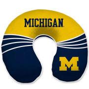 Pegasus Sports University of Michigan Wave Memory Foam Travel Pillow