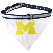 University of Michigan Gear - Michigan Pet Collar and Bandanna