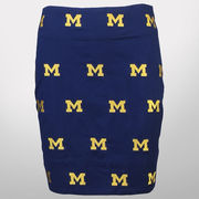 Penningto & Bailes University of Michigan Ladies All Over Stadium Skirt