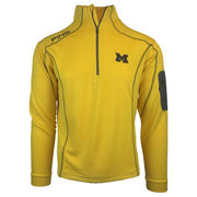 Ping University of Michigan Yellow Ranger 1/4 Zip Pullover