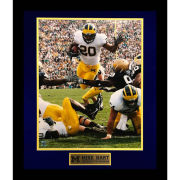 Second Story University of Michigan Football Mike Hart Framed Picture