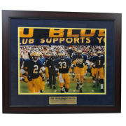 University of Michigan Football Framed Picture: Bo Schembechler's Last Game