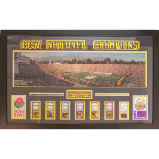 University of Michigan Football Framed Picture: 1997 Rose Bowl Ticket Collage