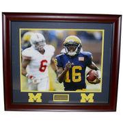 University of Michigan Football Framed Picture: Denard Robinson (v. OHIO)
