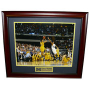 University of Michigan Basketball Trey Burke The Shot Framed Picture