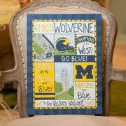 Glory Haus University of Michigan Spirit Canvas Art