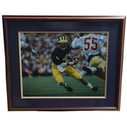 University of Michigan Football Jim Harbaugh Framed Picture
