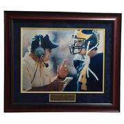 University of Michigan Football Jim Harbaugh and Bo Framed Picture