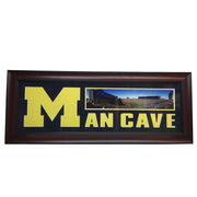 Take 2 Authentics University of Michigan Man Cave Framed Picture