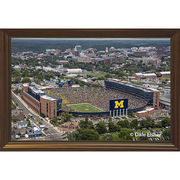 Dale Fisher University of Michigan Football Coach Harbaugh's 1st Win Canvas Photo