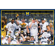 University of Michigan Photo Store 2016 Citrus Bowl Champions Print