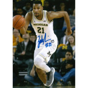 University of Michigan Basketball Zak Irvin. Autographed 8 x 10 Picture