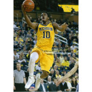 University of Michigan Basketball Derrick Walton Jr. Autographed 8 x 10 Picture