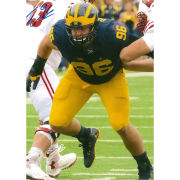 University of Michigan Football Ryan Glasgow Autographed 8 x 10 Picture