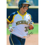 University of Michigan Softball Sierra Romero Autographed 8 x 10 Picture