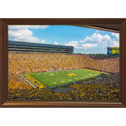 Dale Fisher University of Michigan Football Stadium (2018) Framed Canvas Photo