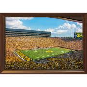 Dale Fisher University of Michigan Football Stadium (2018) Framed Canvas Photo