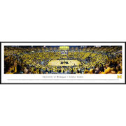 Blakeway University of Michigan Basketball vs. MSU 1989 National Championship 30th Anniversary Celebration Standard Framed Panoramic Picture