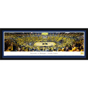 Blakeway University of Michigan Basketball vs. MSU 1989 National Championship 30th Anniversary Celebration Deluxe Framed (Single Mat) Panoramic Picture