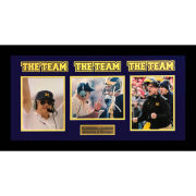 University of Michigan Bo Schembechler and Jim Harbaugh ''The Team'' Collage Framed Picture