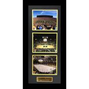 Second Story University of Michigan Game Day Triple Stadium Framed Picture