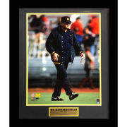 Second Story University of Michigan Football Bo Schembechler Framed Picture
