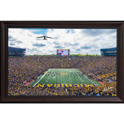 Dale Fisher University of Michigan Football vs. Iowa (10/5/19) B-52 Stratofortress Fly-Over Framed Canvas Photo