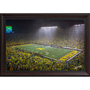 Dale Fisher University of Michigan Football vs. Notre Dame (10/26/19) Framed Canvas Photo