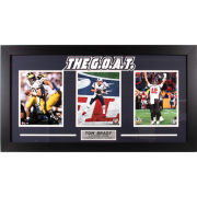University of Michigan Football Tom Brady ''The G.O.A.T.'' Framed Picture