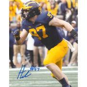 University of Michigan Football Aidan Hutchinson Autographed 8x10 Photo
