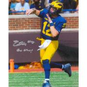 University of Michigan Football Cade McNamara Autographed 8x10 Photo