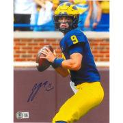 University of Michigan Football JJ McCarthy Autographed 8x10 Photo