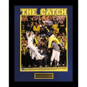 Framed Braylon Edwards Catch Print