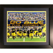 Framed Take The Field Print