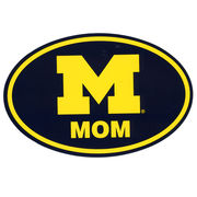 Pine University of Michigan Mom Euro Decal