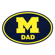 Pine University of Michigan Dad Euro Decal
