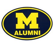 Pine University of Michigan Alumni Euro Decal